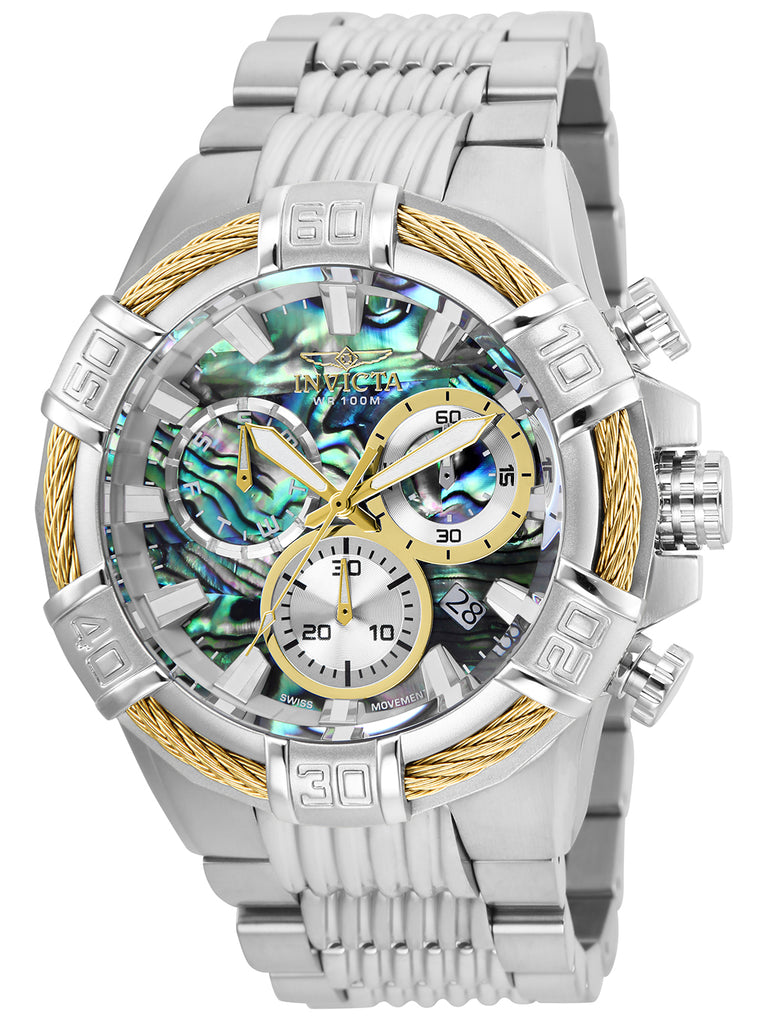 Invicta Men's 26539 Bolt Quartz Chronograph Rainbow Dial Watch