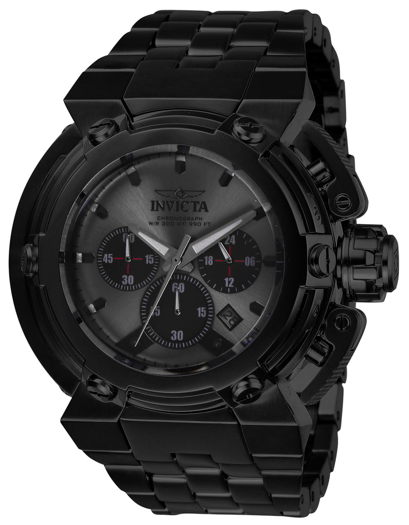 Invicta Men's 26576 Coalition Forces Quartz Chronograph Gunmetal, Black Dial Watch