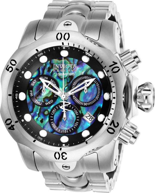 Invicta Men's 26578 Reserve Quartz Chronograph Blue, Green, Black Dial Watch