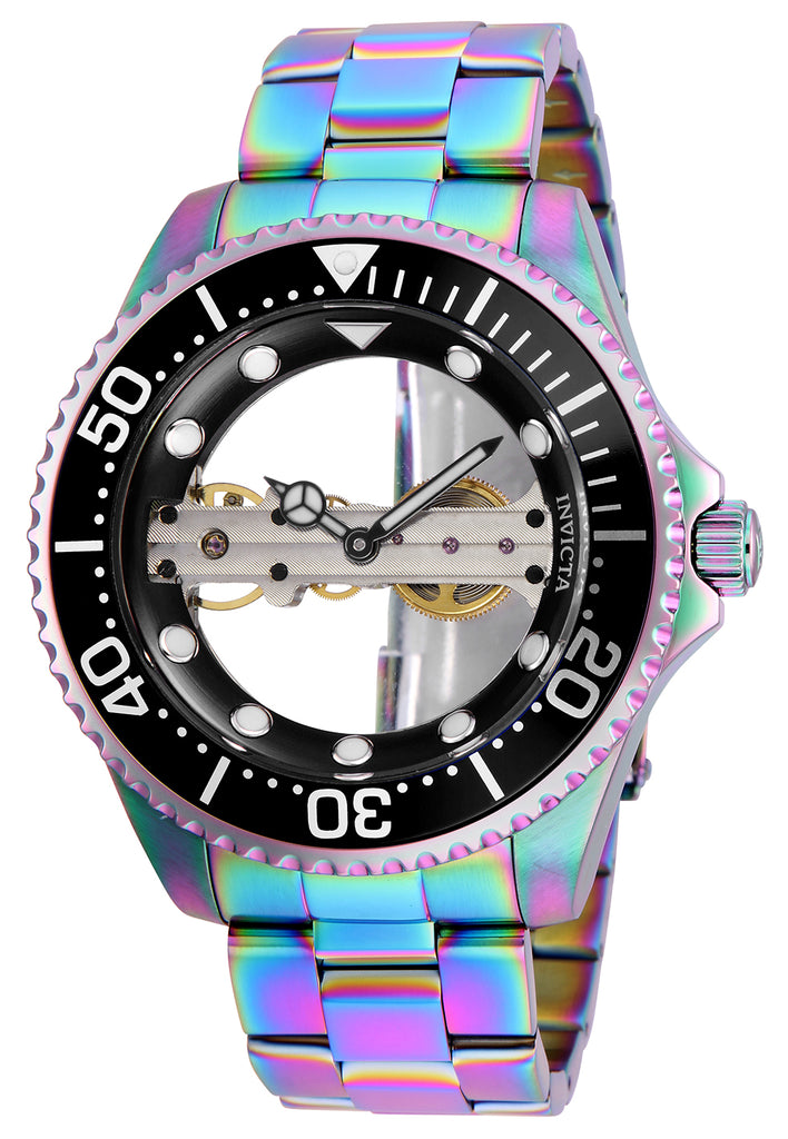 Invicta Men's 26602 Pro Diver Mechanical 2 Hand Black Dial Watch
