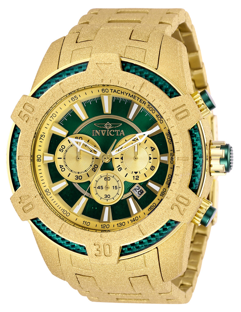 Invicta Men's 26611 Pro Diver Quartz Multifunction Green Dial Watch