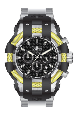 Invicta  Men's 26671 Bolt Quartz Chronograph Black Dial Watch