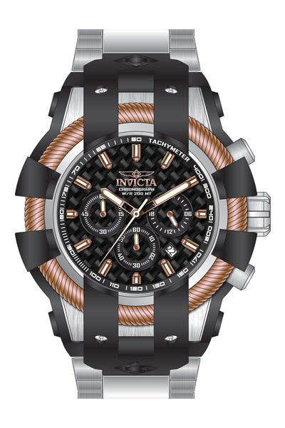 Invicta  Men's 26672 Bolt Quartz Chronograph Black Dial Watch