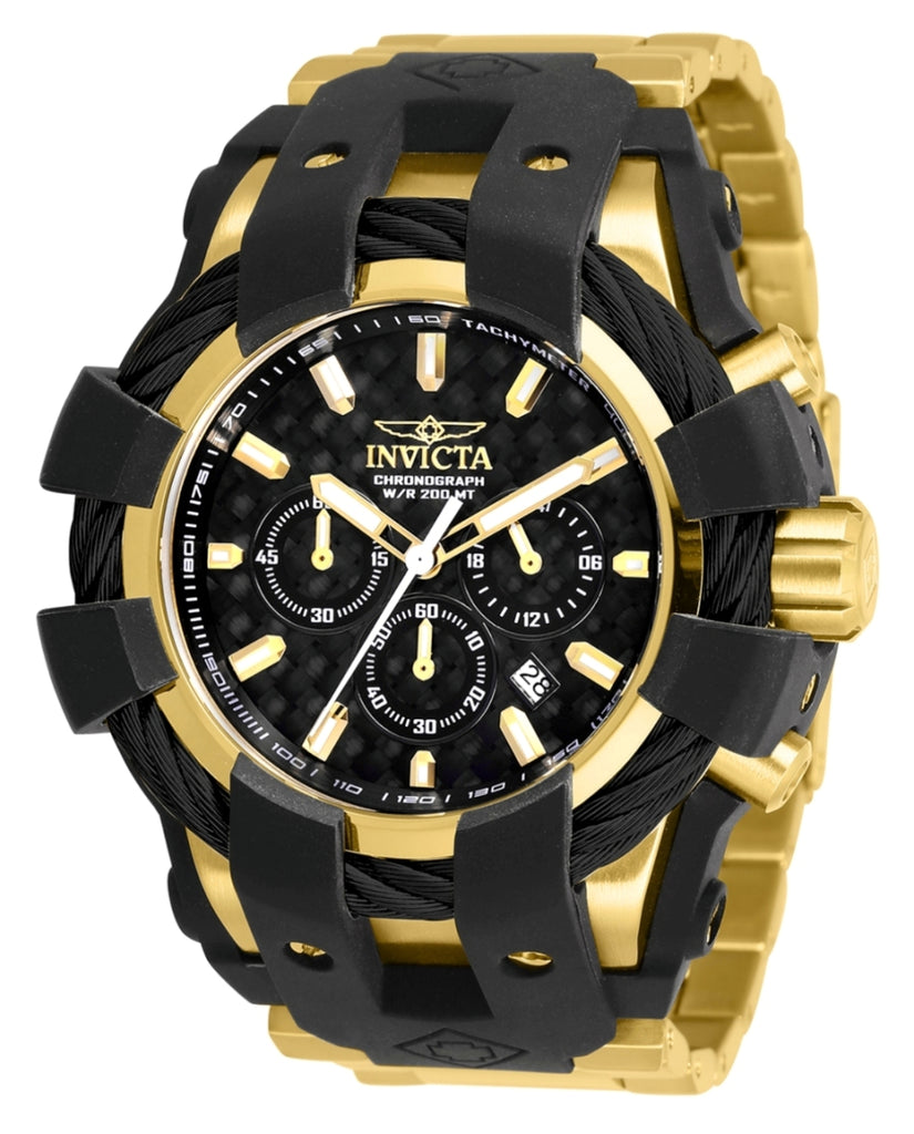 Invicta Men's 26674 Bolt Quartz Chronograph Black Dial Watch