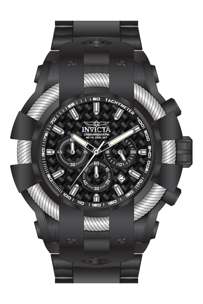 Invicta Men's 26675 Bolt Quartz Chronograph Black Dial Watch