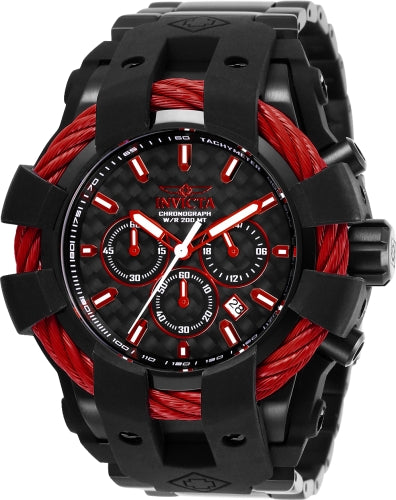Invicta Men's 26677 Bolt Quartz Chronograph Black Dial Watch