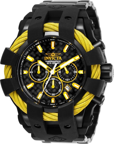 Invicta Men's 26678 Bolt Quartz Chronograph Black Dial Watch