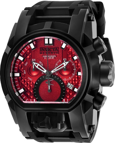 Invicta Men's 26715 Reserve Quartz Multifunction Red Dial Watch