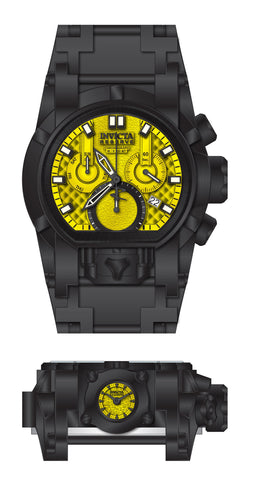 Invicta Men's 26716 Reserve Quartz Chronograph Yellow Dial Watch