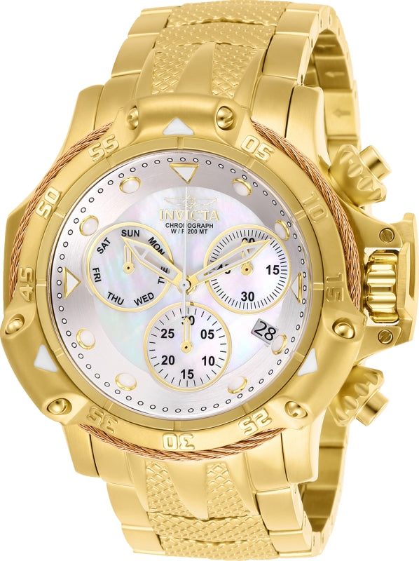 Invicta Men's 26728 Subaqua Quartz Chronograph White Dial Watch