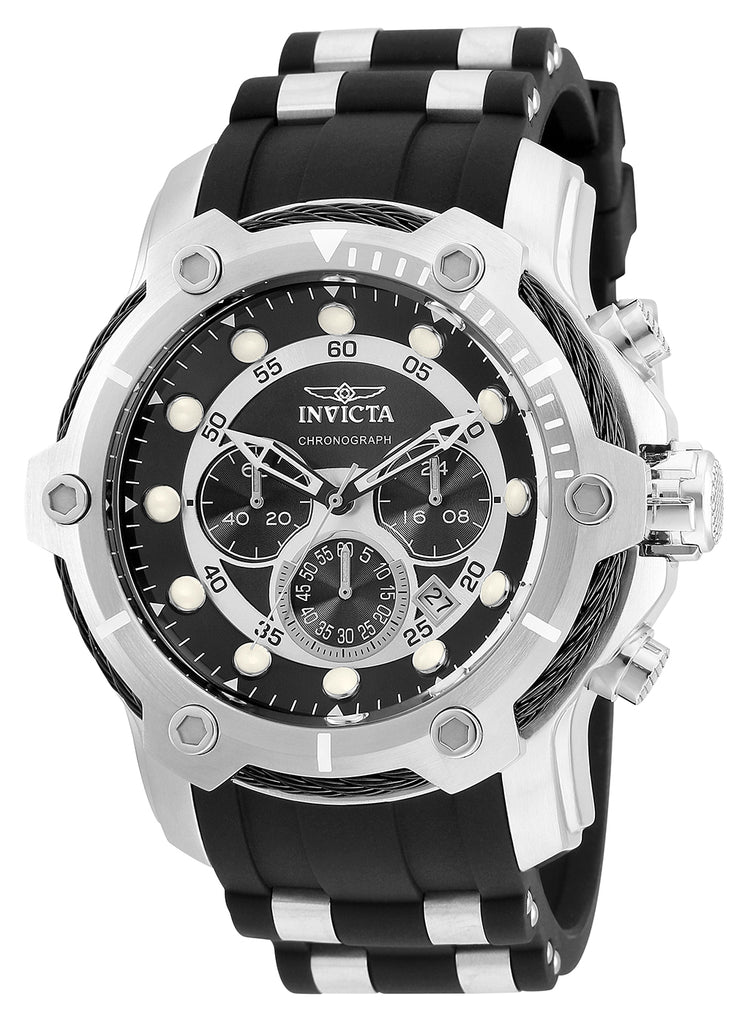 Invicta Men's 26764 Bolt Quartz Chronograph Black Dial Watch