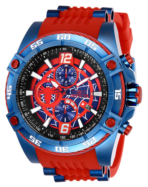 Invicta Men's 26768 Marvel Quartz 3 Hand Red Dial Watch