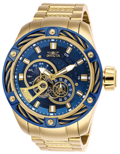 Invicta Men's 26776 Bolt Automatic Multifunction Blue Dial Watch