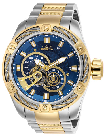 Invicta Men's 26778 Bolt Automatic Multifunction Blue Dial Watch
