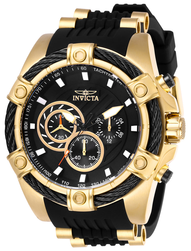 Invicta  Men's 26818 Bolt Quartz Chronograph Black Dial Watch