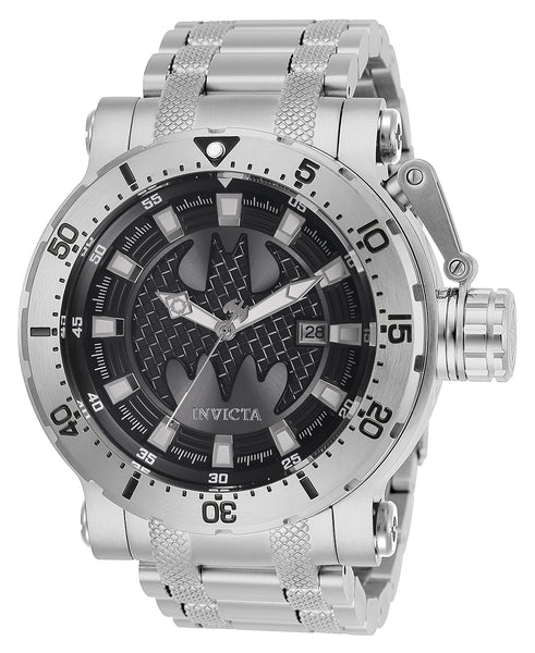 Invicta Men's 26820 DC Comics Automatic 3 Hand Gunmetal Dial Watch