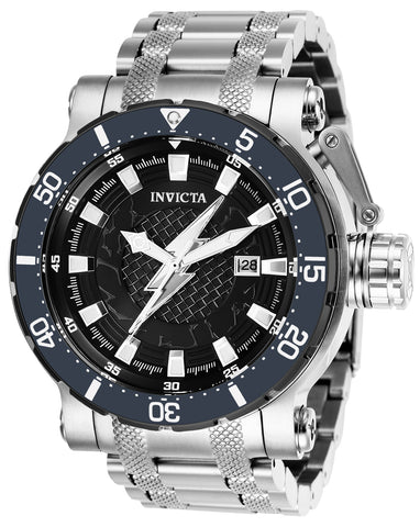 Invicta Men's 26828 DC Comics Automatic 3 Hand Black Dial Watch