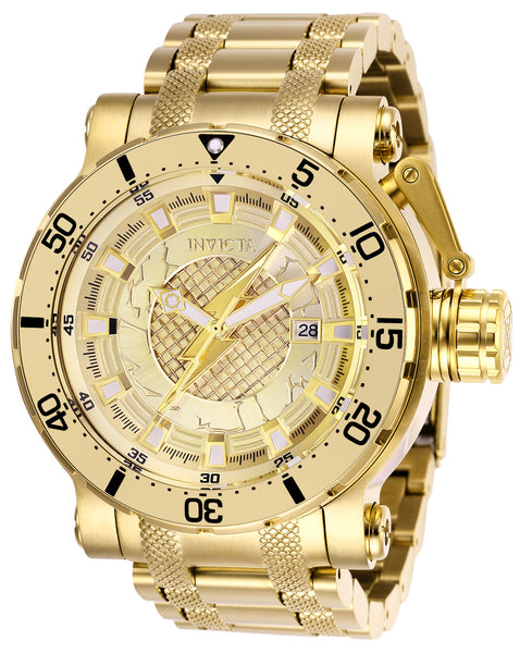 Invicta Men's 26829 DC Comics Automatic 3 Hand Gold Dial Watch