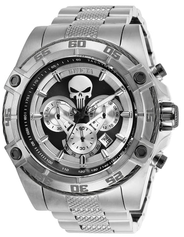 Invicta Men's 26863 Marvel Quartz Multifunction Grey Dial Watch