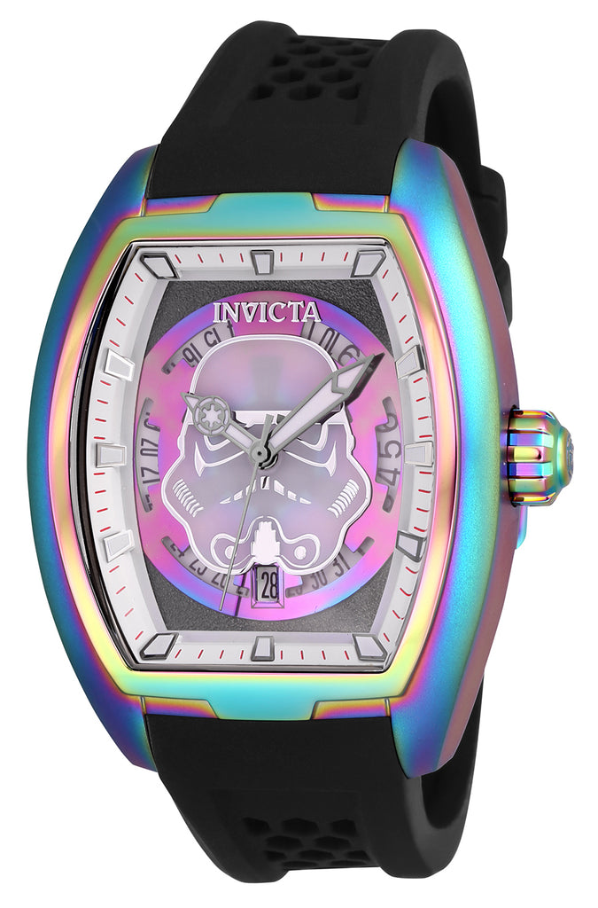 Invicta Men's 26939 Star Wars Automatic 3 Hand Grey, Iridescent Dial Watch