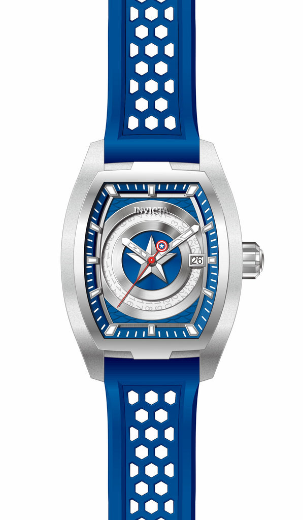 Invicta Men's 26946 Marvel Automatic 3 Hand Blue Dial Watch