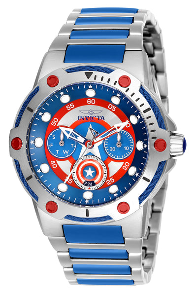 Invicta Women's 26983 Marvel Quartz 3 Hand Blue Dial Watch