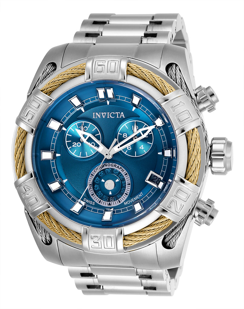 Invicta Men's 26990 Bolt Quartz Chronograph Blue Dial Watch