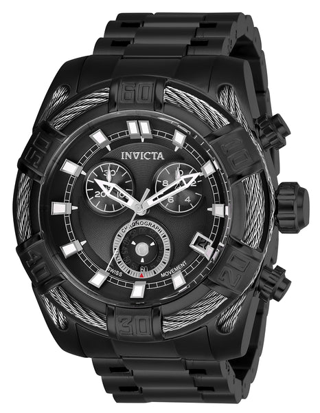 Invicta Men's 26995 Bolt Quartz Chronograph Black Dial Watch