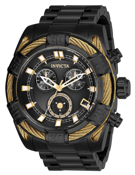 Invicta Men's 26996 Bolt Quartz Chronograph Black Dial Watch