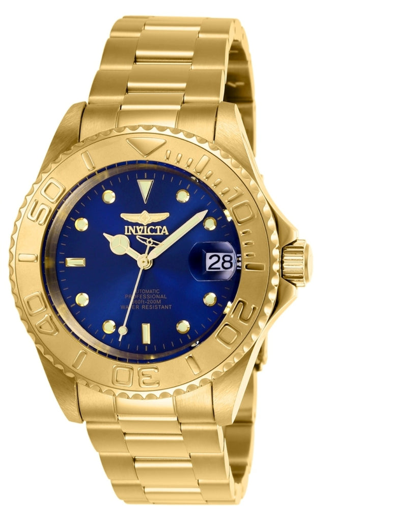 Invicta Men's 26997 Pro Diver Automatic 3 Hand Blue Dial Watch