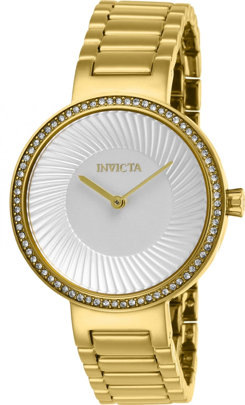 Invicta Women's 27000 Specialty Quartz 2 Hand Silver Dial Watch
