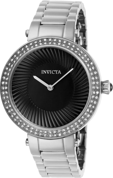 Invicta Women's 27003 Specialty Quartz 2 Hand Black Dial Watch