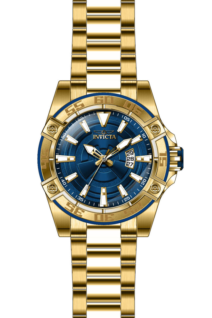 Invicta Men's 27011 Pro Diver Automatic 3 Hand Blue Dial Watch