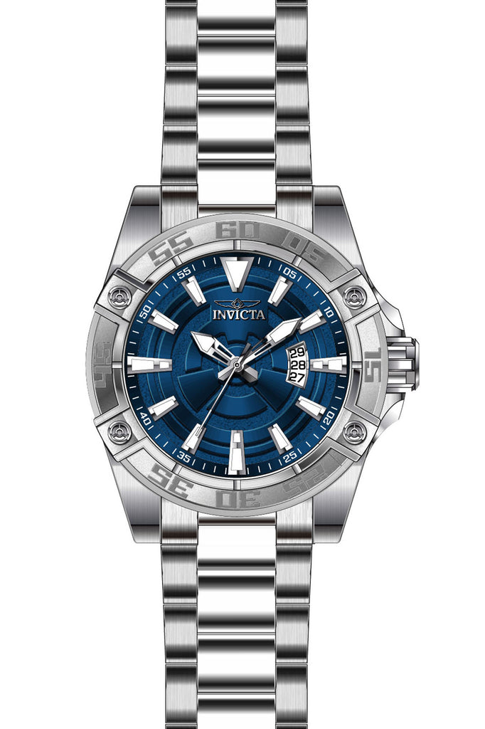 Invicta Men's 27015 Pro Diver Automatic 3 Hand Blue Dial Watch