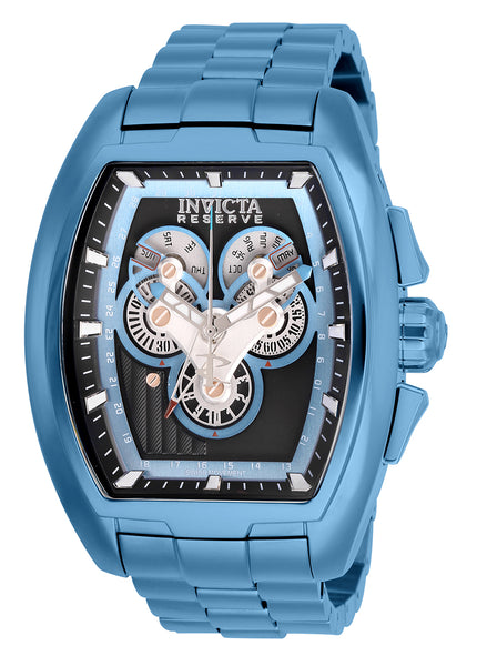 Invicta Men's 27056 Reserve Quartz 3 Hand Charcoal Dial Watch