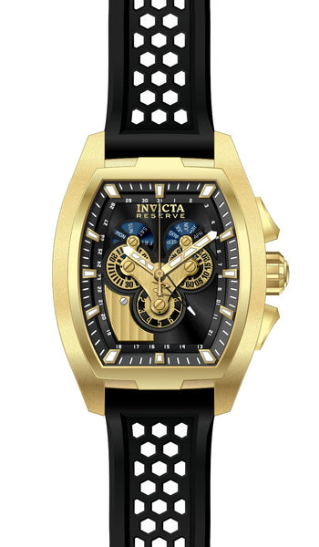 Invicta Men's 27087 Reserve Quartz Chronograph Black Dial Watch