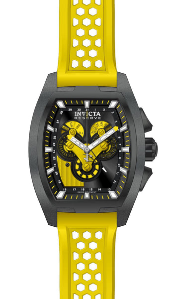 Invicta Men's 27088 Reserve Quartz Multifunction Black Dial Watch
