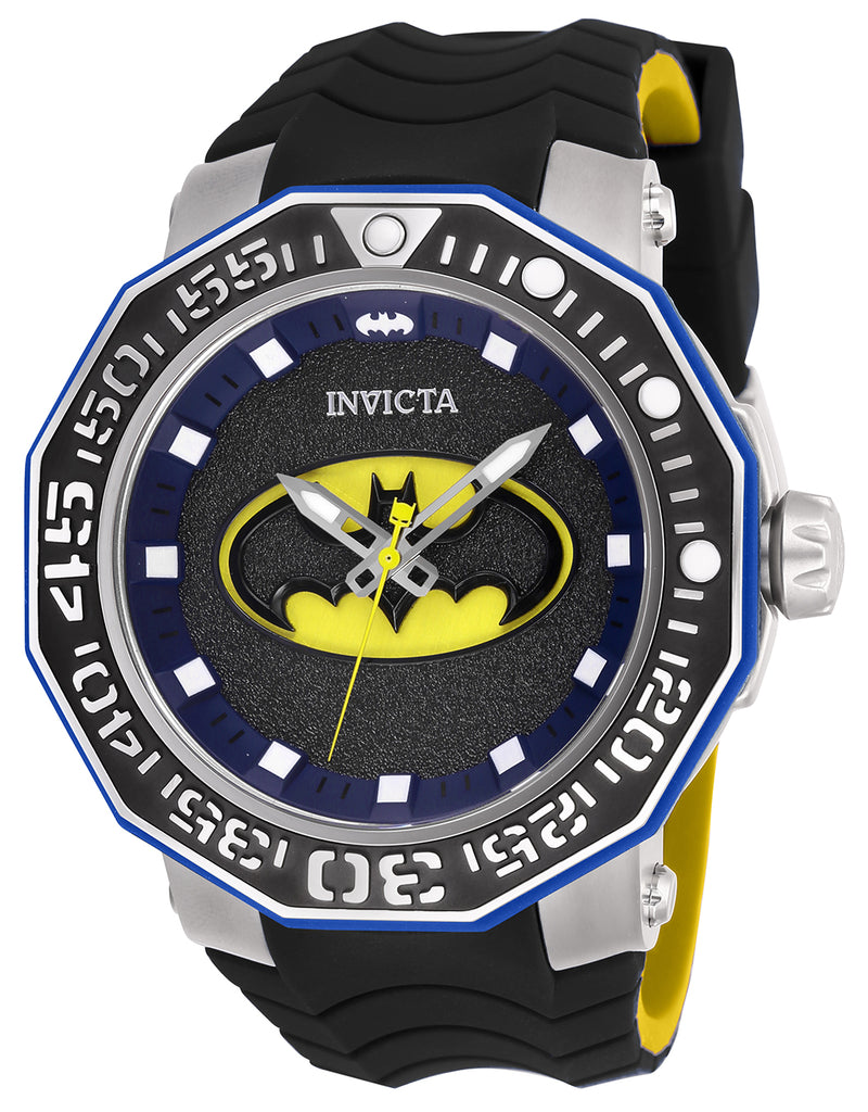 Invicta Men's 27092 DC Comics Automatic 3 Hand Black Dial Watch