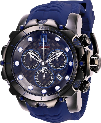 Invicta Men's 27105 Jason Taylor Quartz Chronograph Black Dial Watch