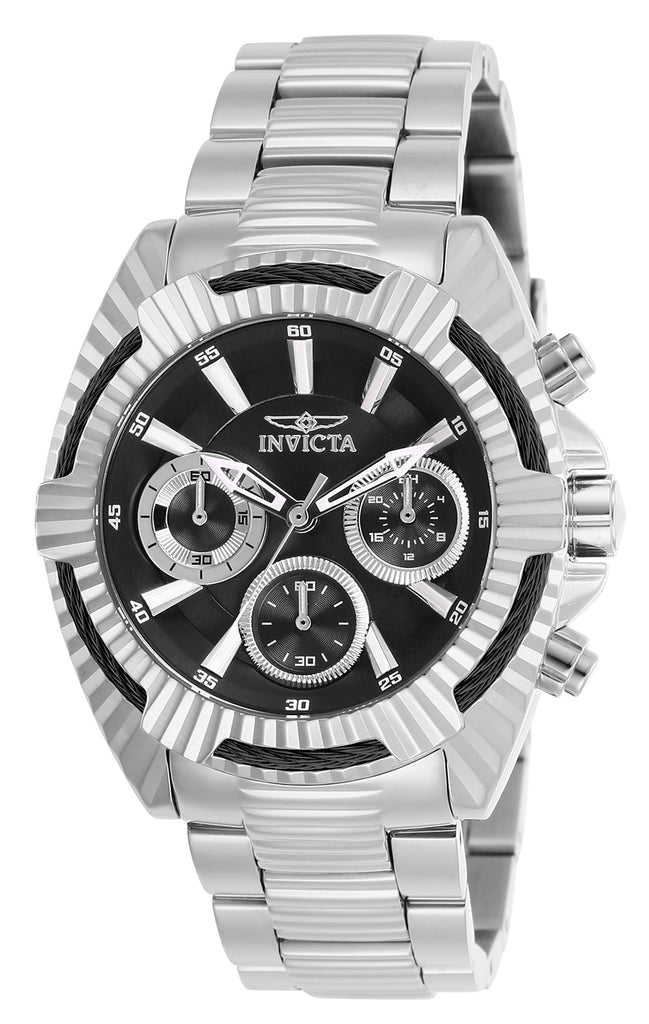 Invicta Women's 27184 Bolt Quartz Chronograph Black Dial Watch