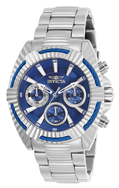 Invicta Women's 27185 Bolt Quartz Chronograph Blue Dial Watch