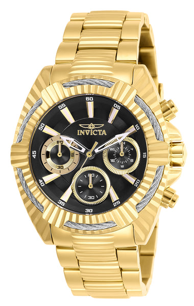 Invicta Women's 27186 Bolt Quartz Chronograph Black Dial Watch