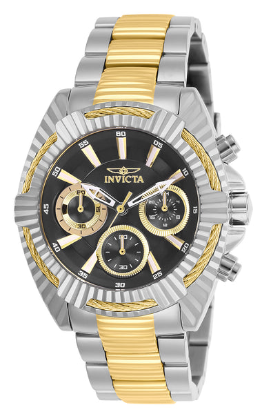 Invicta Women's 27188 Bolt Quartz Chronograph Black Dial Watch