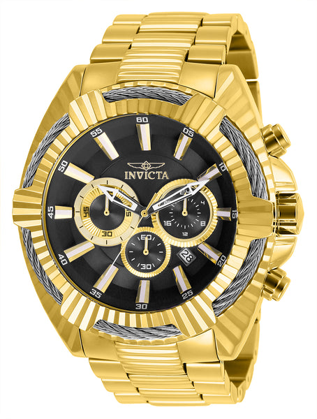 Invicta Men's 27192 Bolt Quartz Chronograph Black Dial Watch