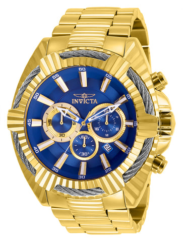 Invicta Men's 27193 Bolt Quartz Chronograph Blue Dial Watch