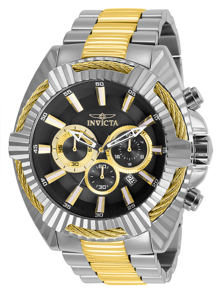 Invicta Men's 27194 Bolt Quartz Chronograph Black Dial Watch