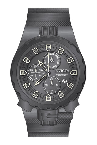 Invicta Men's 27224 Coalition Forces Quartz Chronograph Grey Dial Watch