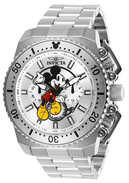 Invicta Men's 27287 Disney  Quartz Chronograph Silver Dial Watch