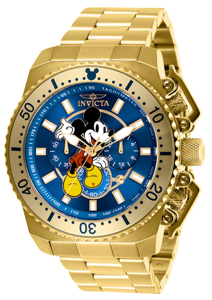 Invicta Men's 27288 Disney  Quartz Chronograph Blue Dial Watch