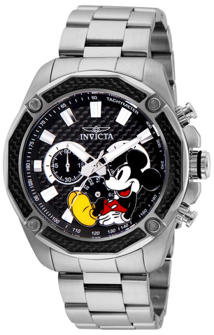 Invicta Men's 27351 Disney  Quartz Chronograph Black Dial Watch